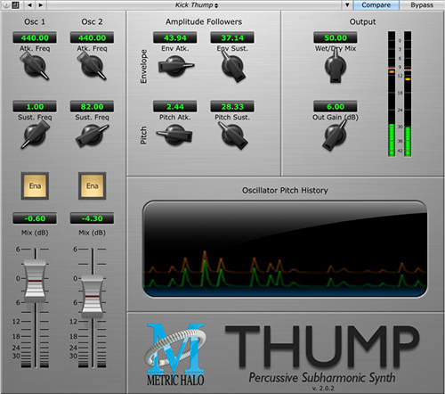 Thump 5 plugins gratuitos Javhastudios